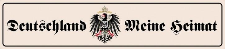 Werbeschild Deutschland - Meine Heimat