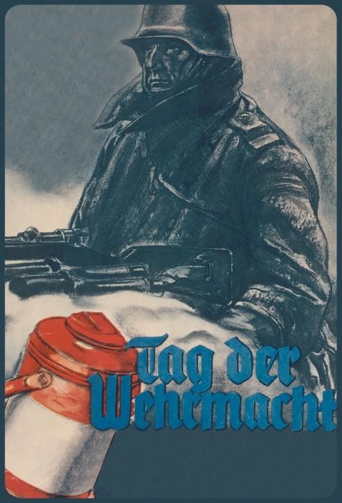 Werbeschild Tag der Wehrmacht V