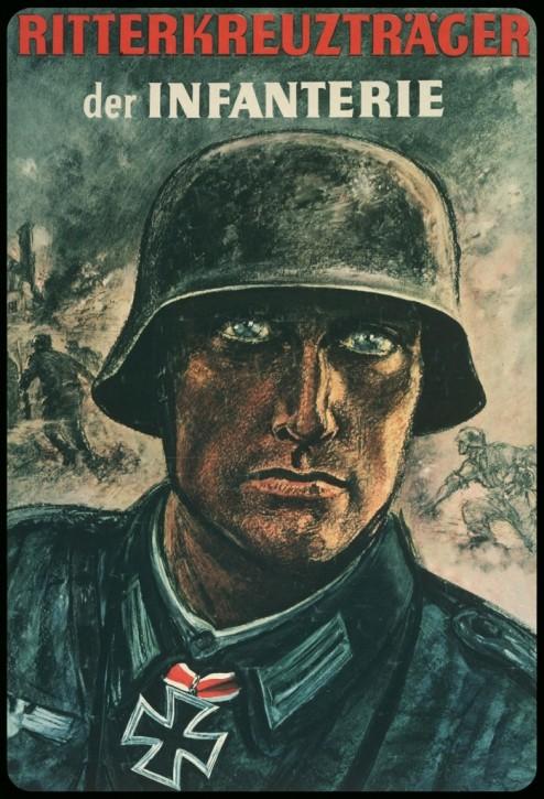 Werbeschild Ritterkreuzträger der Infanterie