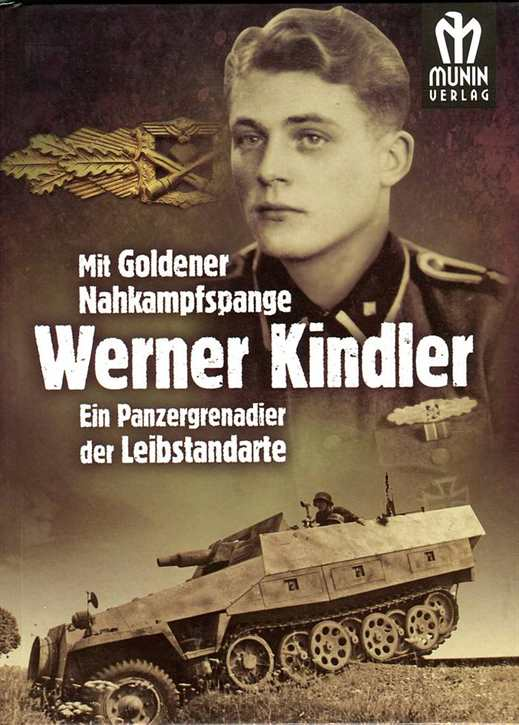 Kindler, Werner: Mit Goldener Nahkampfspange