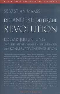 Maass, Sebastian: Die andere deutsche Revolution