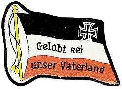 Aufnäher Gelobt sei unser Vaterland