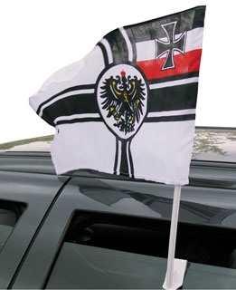 Autoflagge als Reichskriegsflagge