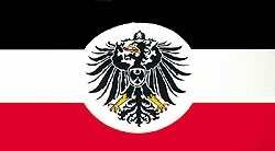 Flagge Deutsches Reich Auswärtiges Amt