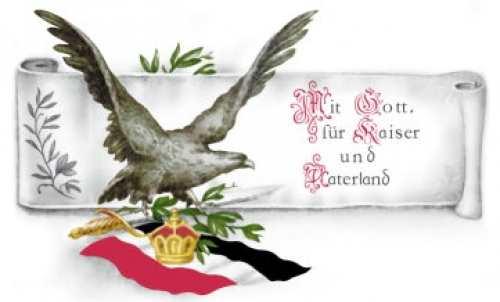 Tasse Für Kaiser und Vaterland...