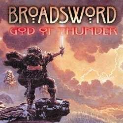 Broadsword - God of Thunder, CD