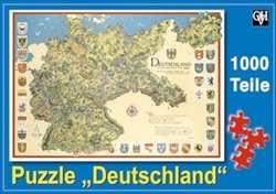 Puzzle - Deutschland in den Grenzen von 1937