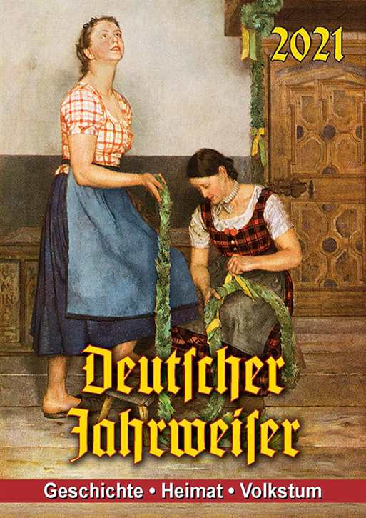 Kalender - Deutscher Jahrweiser 2021