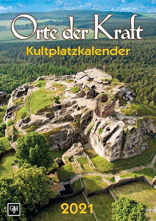 Kalender - Orte der Kraft - Kultplatzkalender 2021