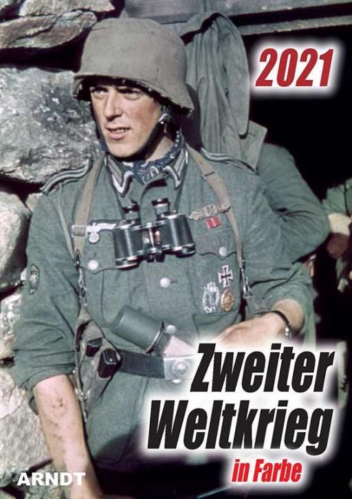 Kalender - Zweiter Weltkrieg in Farbe 2021