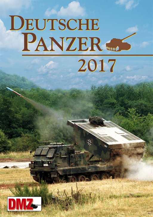 Kalender - Deutsche Panzer 2017