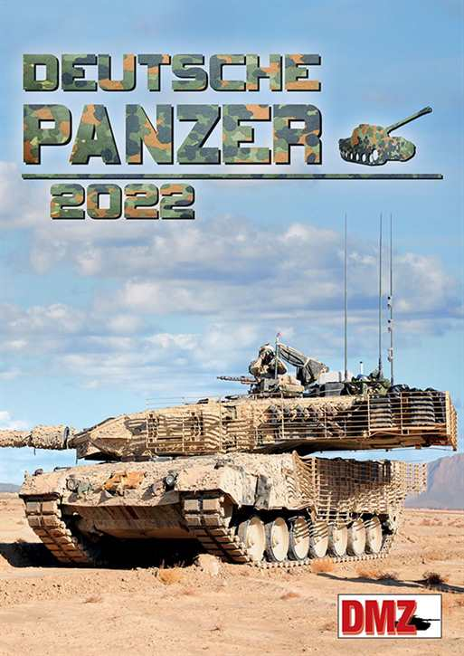 Kalender - Deutsche Panzer 2022
