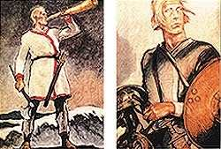 Postkartensatz - Wikinger