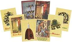 Postkartensatz - Weihnacht I
