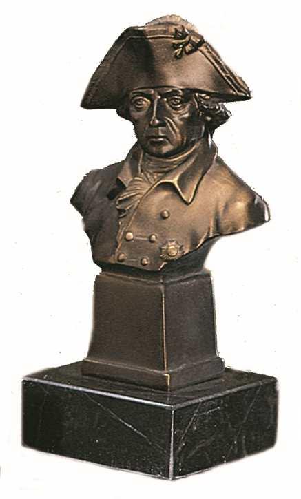 Bronzereplik Friedrich der Große