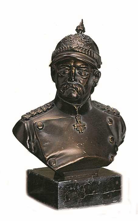 Bronzereplik Otto von Bismarck