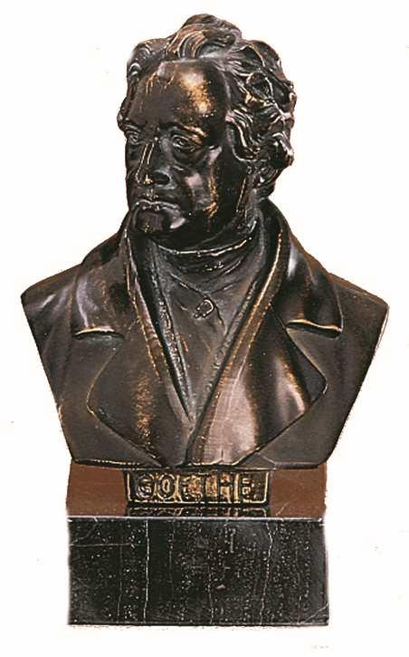 Bronzereplik Johann Wolfgang von Goethe