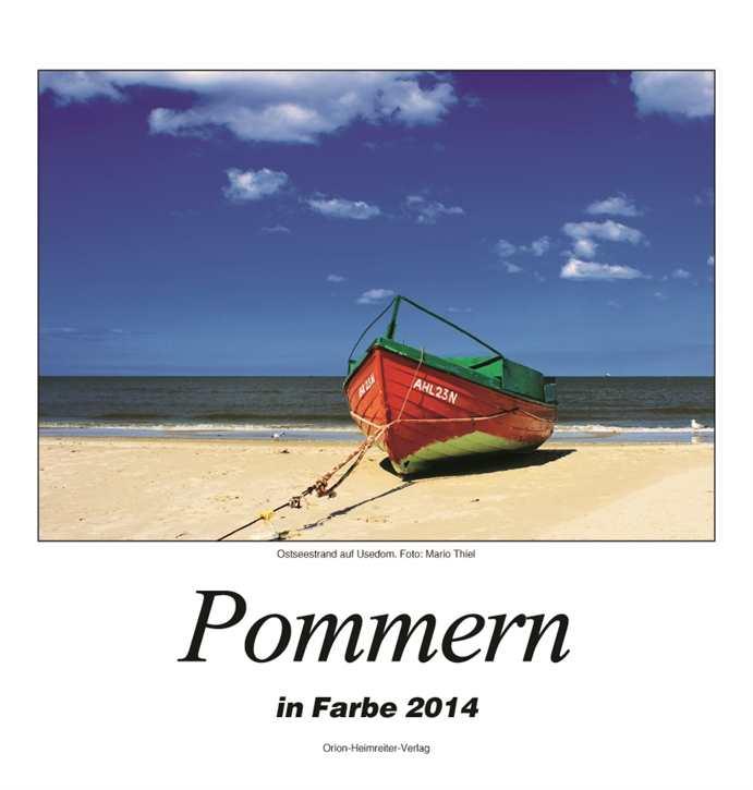 Kalender - Pommern in Farbe 2014