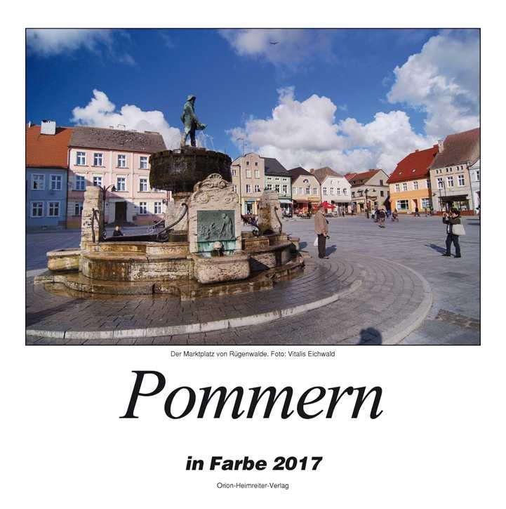 Kalender - Pommern in Farbe 2017