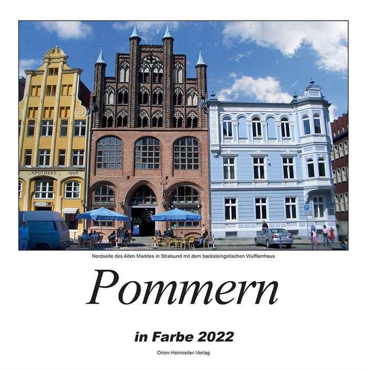 Kalender - Pommern in Farbe 2022