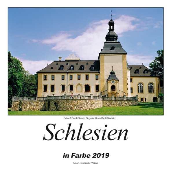 Kalender - Schlesien in Farbe 2019