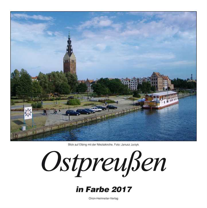 Kalender - Ostpreußen in Farbe 2017