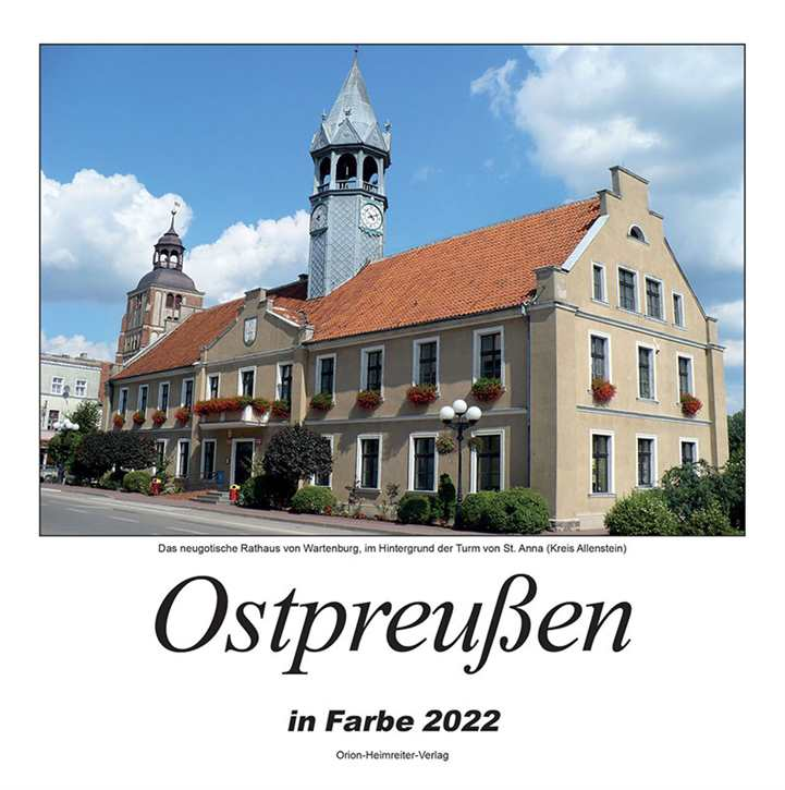 Kalender - Ostpreußen in Farbe 2022