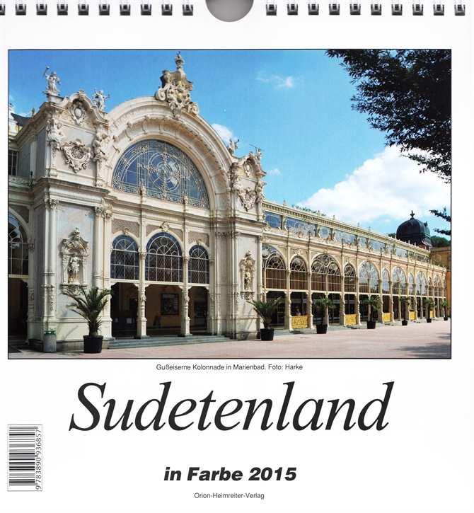 Kalender - Sudetenland in Farbe 2015