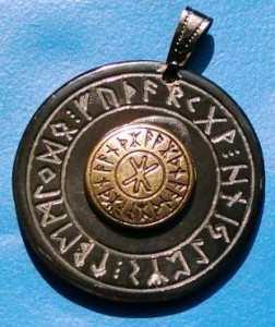 Anhänger Amulett Odins Macht