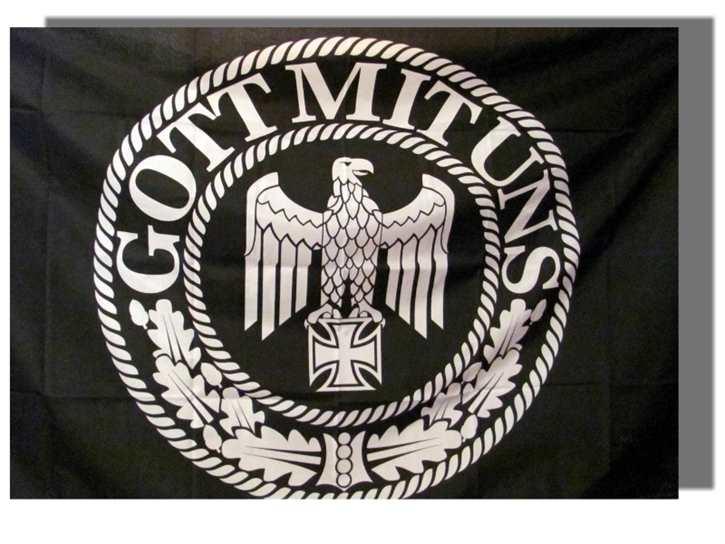 Fahne Reichsadler EK Gott mit uns
