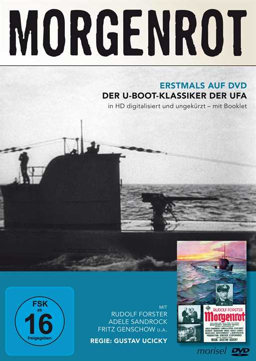 Morgenrot - Der U-Boot Klassiker der UFA, DVD