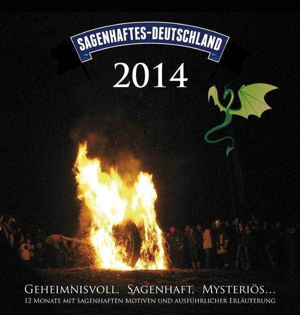 Kalender - Sagenhaftes Deutschland 2014