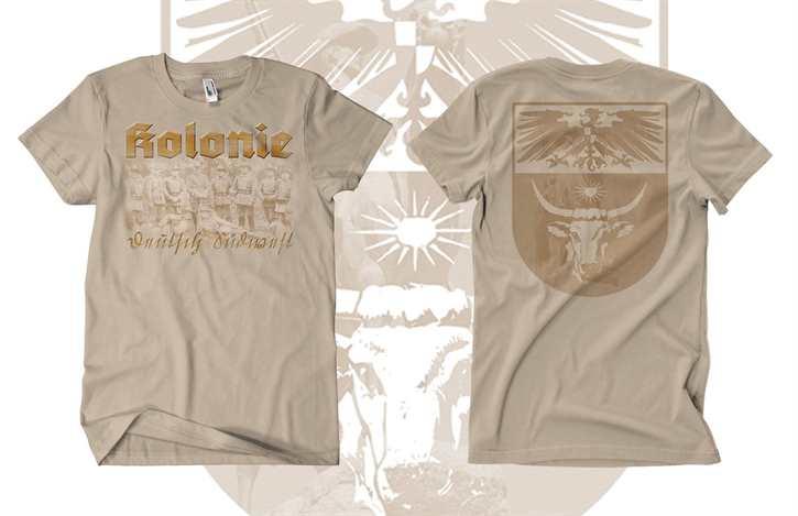 T-Hemd Kolonie - Deutsch-Südwestafrika
