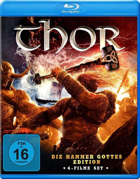Thor - Hammer Gottes Edition (4 Filme auf Blu-ray)