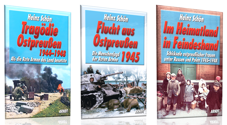 Schön, Heinz: Große Ostpreußen-Trilogie