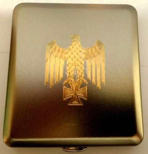 Zigarettenetui - Reichsadler mit EK