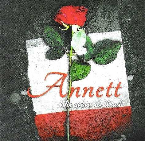 Annett - Wir geben nicht auf, CD