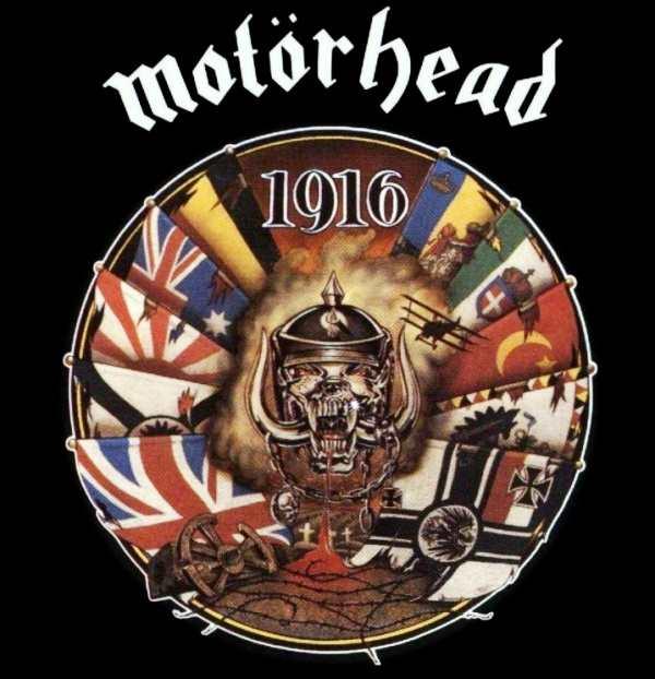 Motörhead - 1916, CD