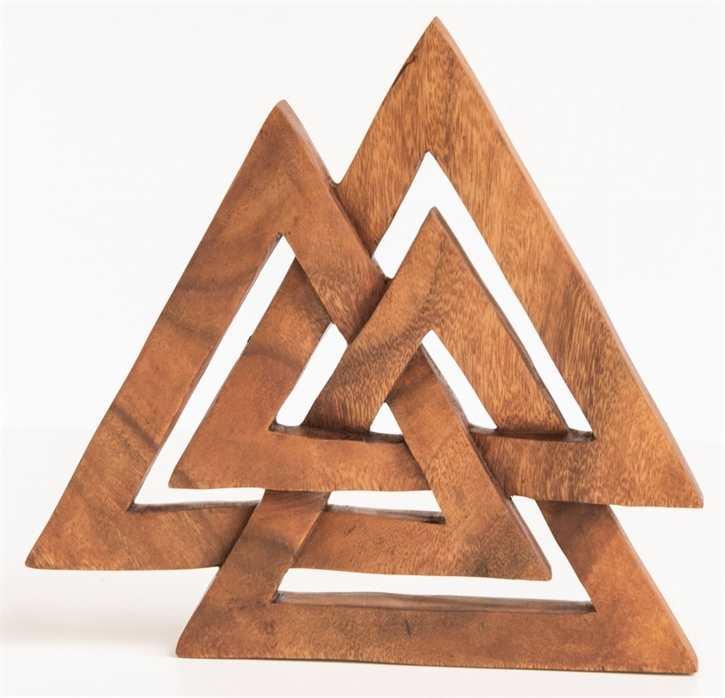 Wotansknoten aus Holz