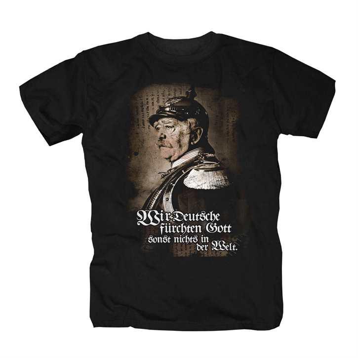 T-Hemd Bismarck - Wir Deutsche fürchten...