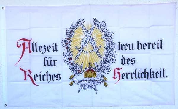 Fahne Allezeit bereit...