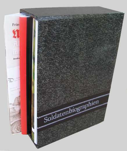 """Buchschuber A5 - """"Feldgrau"""""""