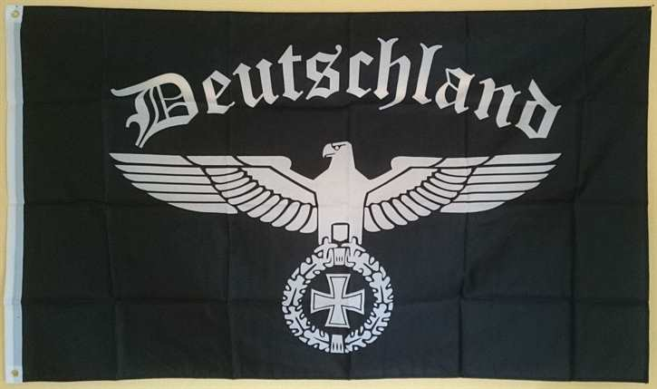 Fahne Deutschland mit Hoheitsadler