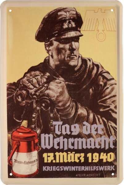 Werbeschild Tag der Wehrmacht III