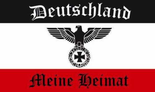 Aufkleber Deutschland meine Heimat