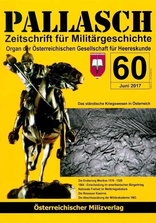 Pallasch - Zeitschrift f. Militärgeschichte Nr. 60