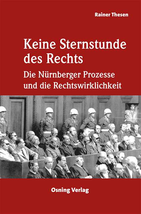 Thesen, Rainer: Keine Sternstunde des Rechts