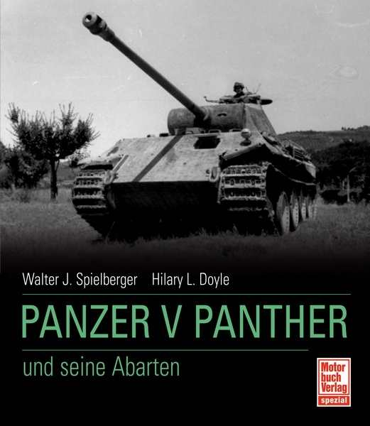 Spielberge/Doyle: Panzer V Panther u. s. Abarten