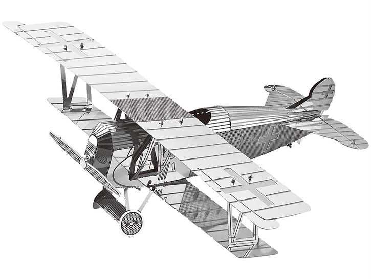 3D-Bausatz Flugzeug aus Metall