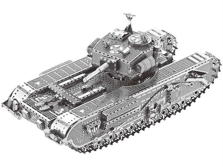 3D-Bausatz Panzer aus Metall